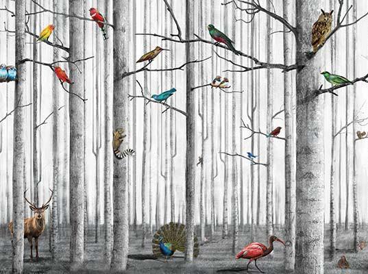 Papier peint écologique