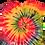 Thumbnail: Ladies Spaghetti Strap Rainbow Spiral Tank