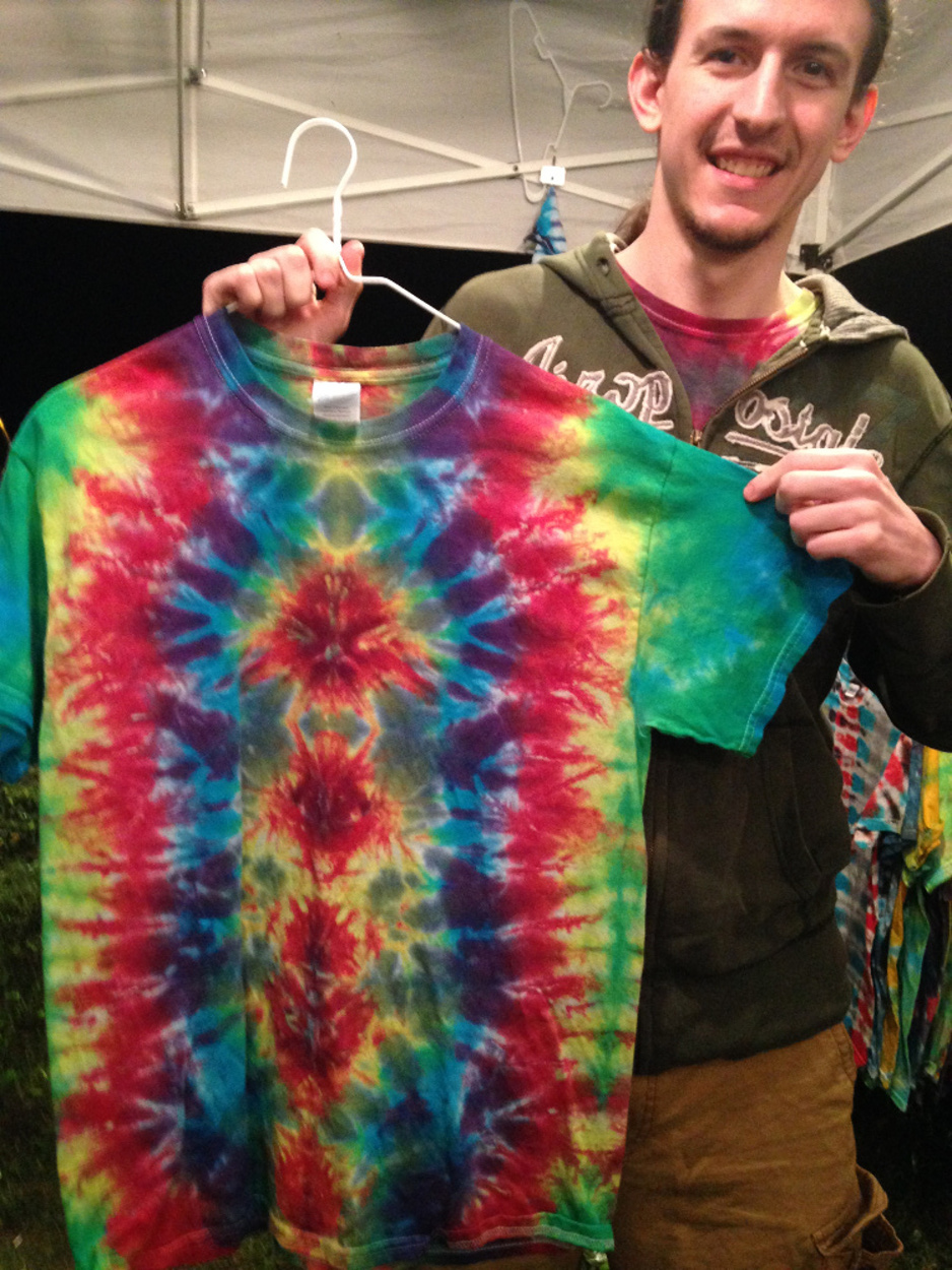 New Tie Dye Again!