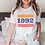 Thumbnail: Custom Year Vintage Inspired T-Shirt