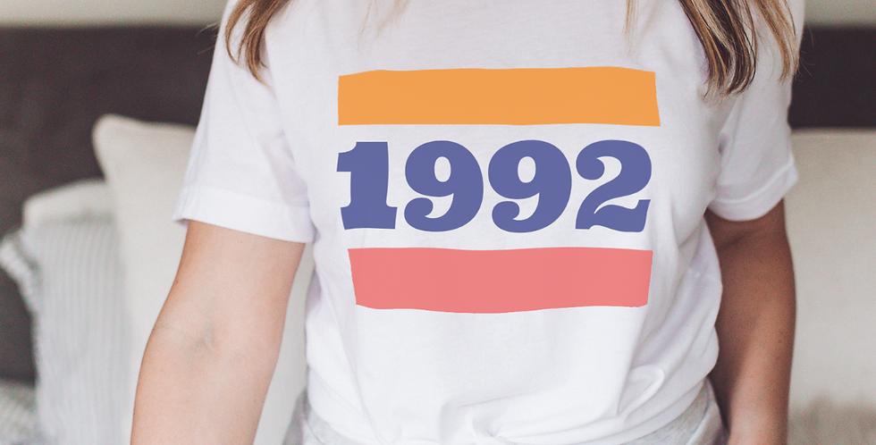 Custom Year Vintage Inspired T-Shirt