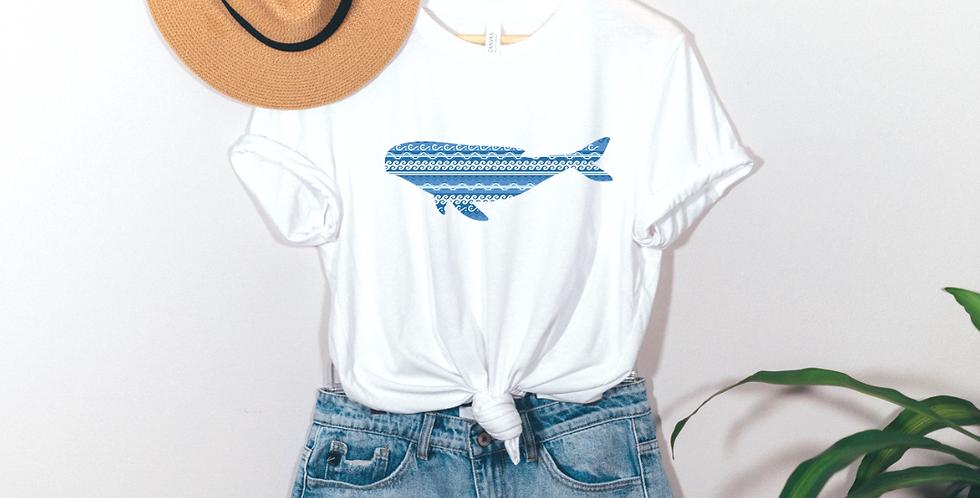 Blue Whale Graphic T-Shirt