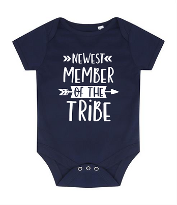 Newest Member of the Tribe - Baby Bodysuit