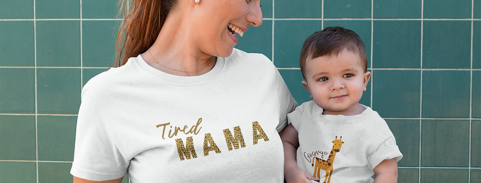 Tired Mama - T-Shirt