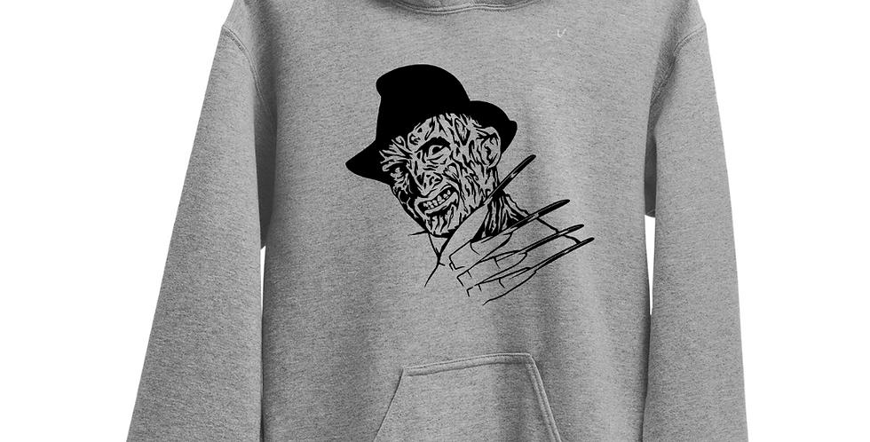 Halloween Villain Freddy Krueger Inspired Hoodie