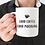 Thumbnail: Good Coffee Good Morning - 11oz White Ceramic Mug