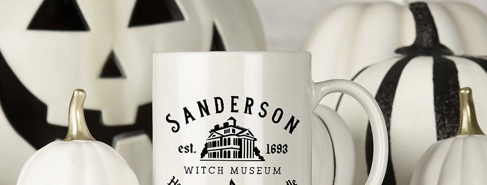Sanderson Witch Museum - 11oz White Ceramic Mug