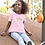 Thumbnail: Rainbow - Baby/Toddler Light Pink T-Shirt