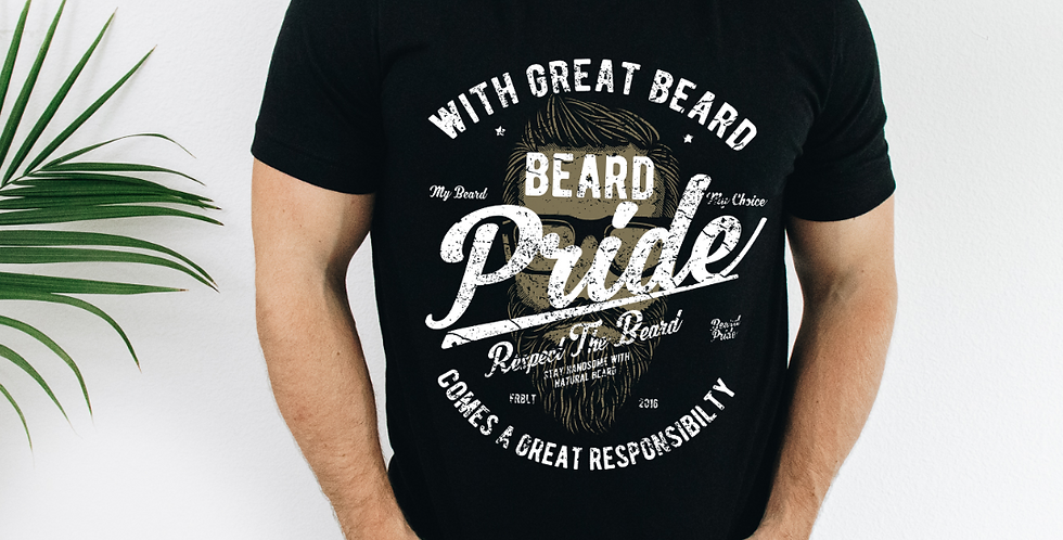 Beard Pride Graphic T-Shirt