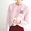 Thumbnail: Tired but Blessed - Light Pink Sweatshirt