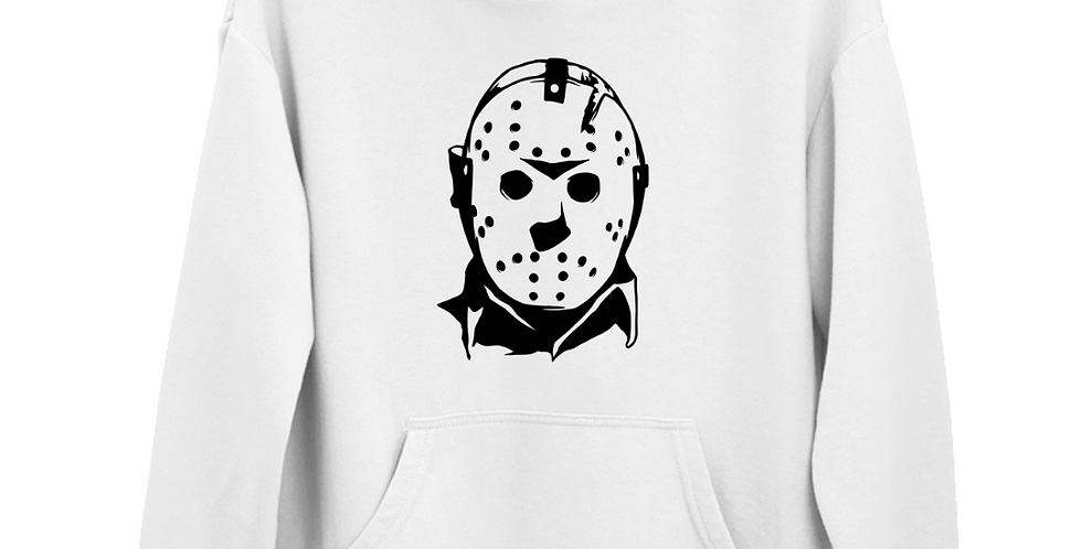 Halloween Villain Jason Voorhees Inspired Hoodie