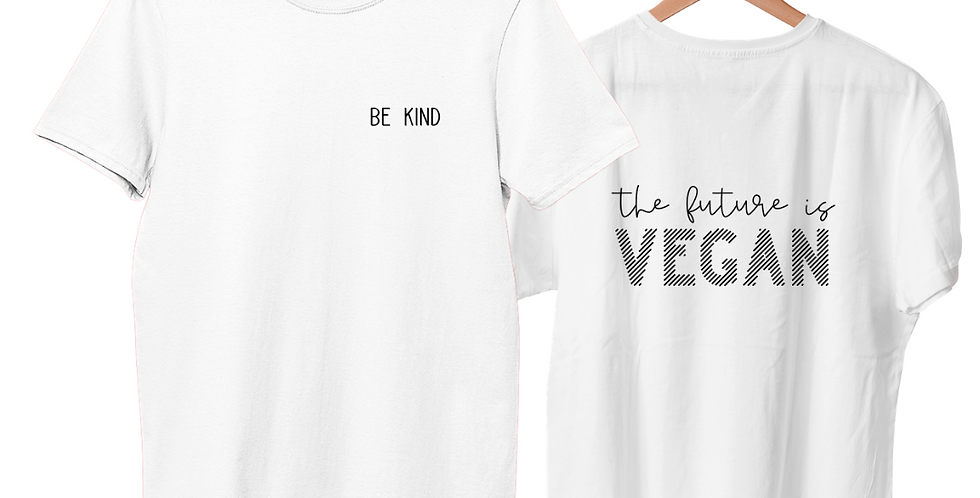 The Future is Vegan - Double Sided T-Shirt