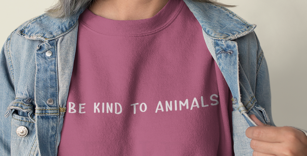 Be Kind To Animals - Sweatshirt