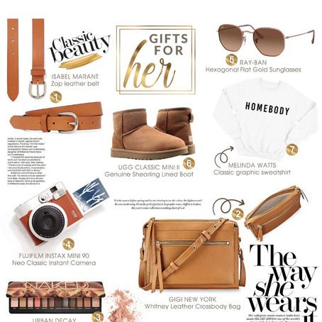 The classic and Perfect Christmas Gift Guide for Her!