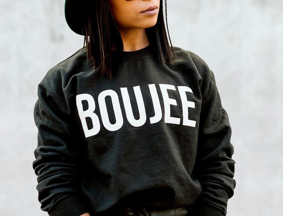"""""""Boujee"""" Sweatshirt for Women & Kids"""