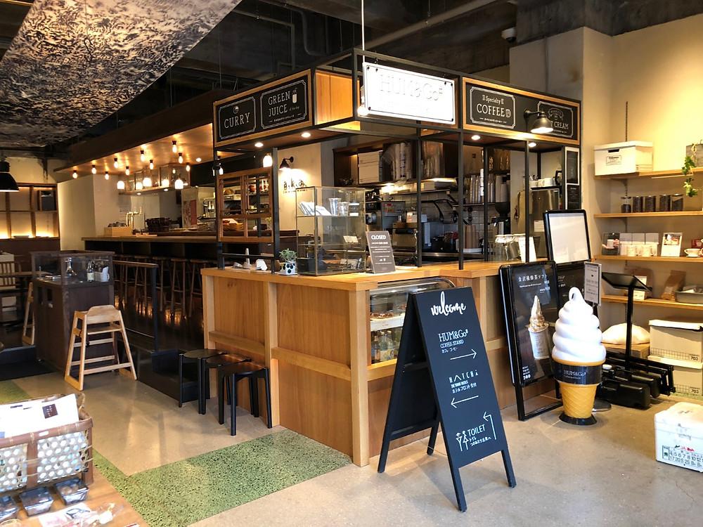 金沢 HATCHIのカフェスペース。インテリアコーディネーターのブログ。