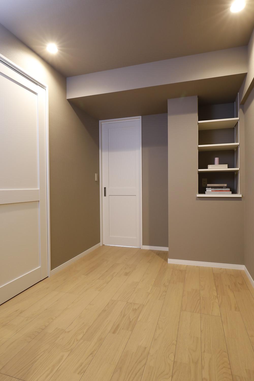 引き戸を多用したマンションに、リノベ。風と光が通る菱和マンション島津山。販売中。インテリアデザイナーのブログ