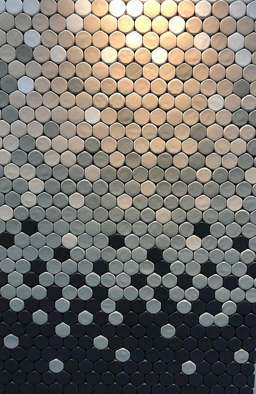 テゴネタイル。NENDO佐藤オオキデザインのタイル。TEGONE-TILE。インテリアコーディネーターのブログ