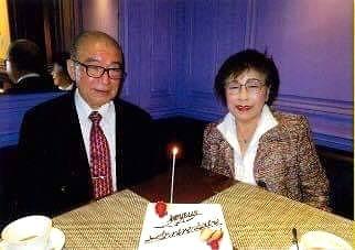 80歳現役インテリアコーディネーターを支えたご主人との写真。コーディネーターのブログ
