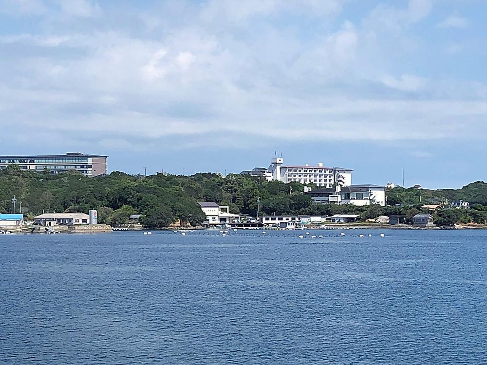 伊勢志摩サミットのあったホテルを海から見てみる。インテリアコーディネーターのブログ。