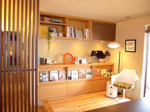 住宅展示場の実例。チューリップチェアのファミリースペース。インテリアコーディネーターのブログ。