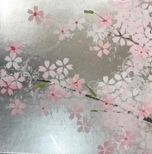 桜のアート作品が簡単に描けます!アートに挑戦してみた日のブログ。