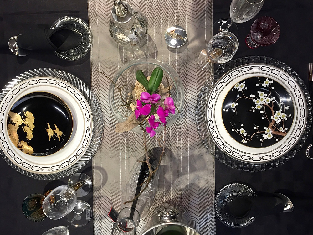 骨董を使ったテーブルコーディネート アンティーク。インテリアコーディネーターのブログ