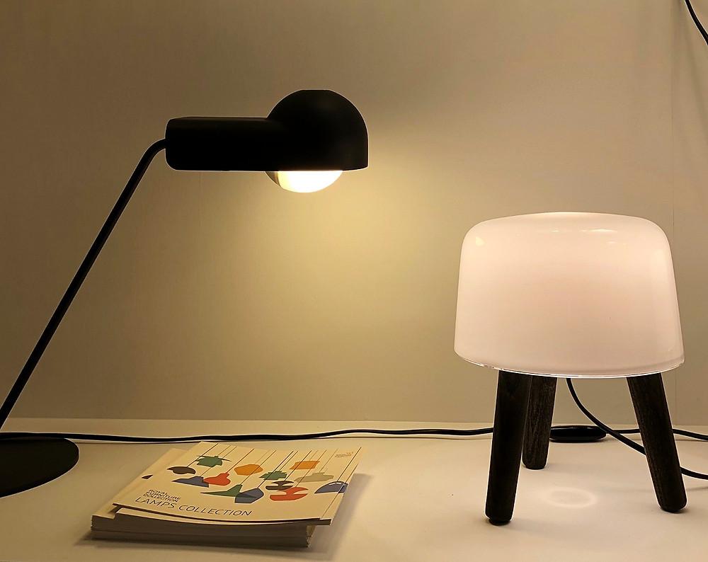 可愛いスタンド照明。新商品は新宿オゾンのショールームで。インテリアデザイナーのブログ