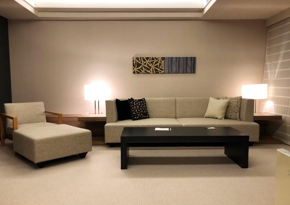 レギュラースウィートルームのシンプルなお部屋。インテリアコーディネーターのブログ。