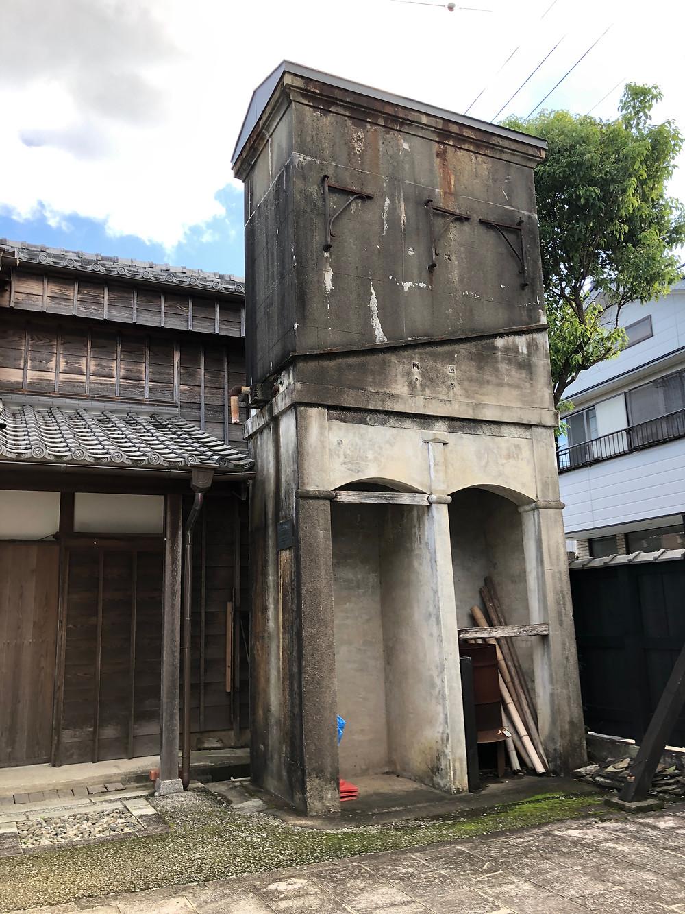 伊勢河崎のサイダー工場の跡地。有形文化財の建物。インテリアコーディネーターのブログ。