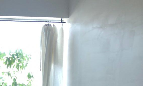 マンションリフォーム実例 カーテンと漆喰。インテリアコーディネーターのブログ。