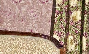 美しいウィリアムモリスの壁紙やファブリック。インテリアコーディネートのブログ