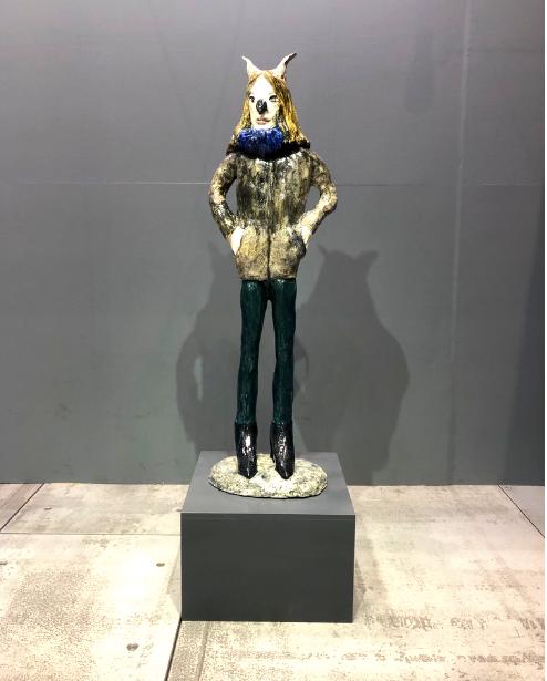 ギャラリーペロタンのブース。アートフェア東京にて。インテリアコーディネーターのブログ