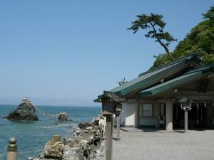 三重県の二見興玉神社と、夫婦岩。夕焼けの海が綺麗。インテリアコーディネーターのブログ。