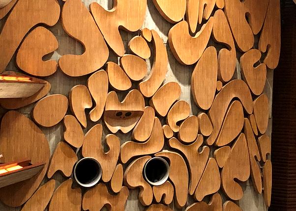 上野の東京文化会館の大ホールには彫刻家が製作したパーツが。インテリアコーディネーターのブログ