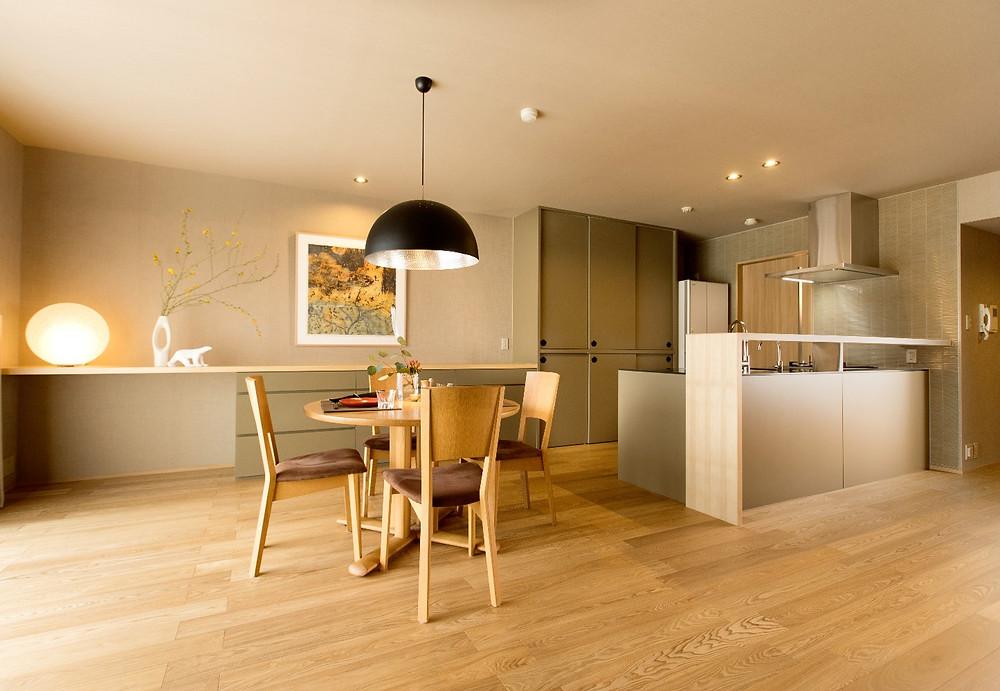 造作キッチン実例 マンションリフォームのリアルブログ。