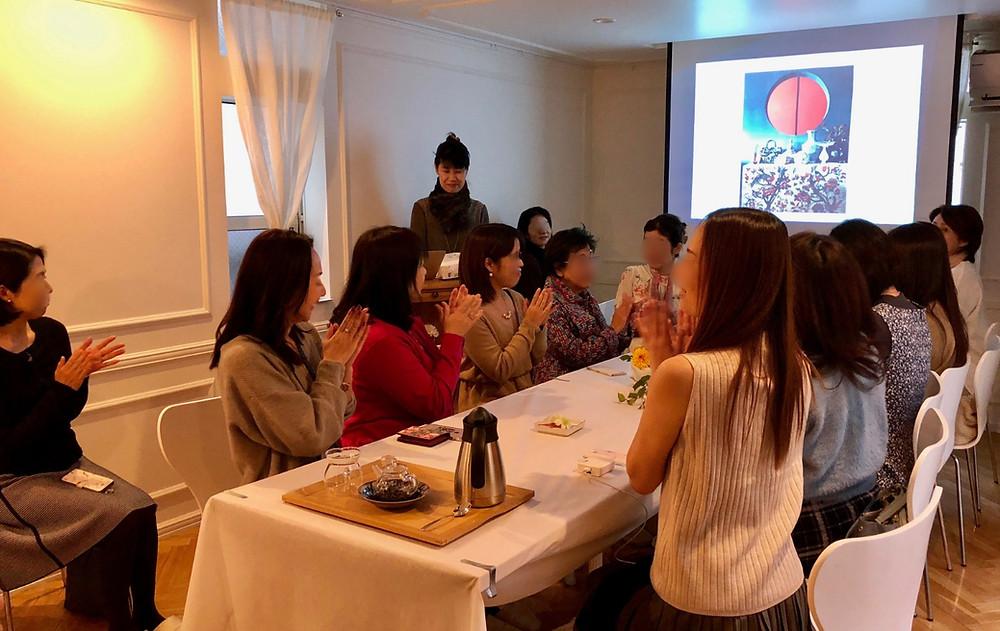 インテリアコーディネートセミナー。サロンでのお茶付き。セミナー講師のブログです。