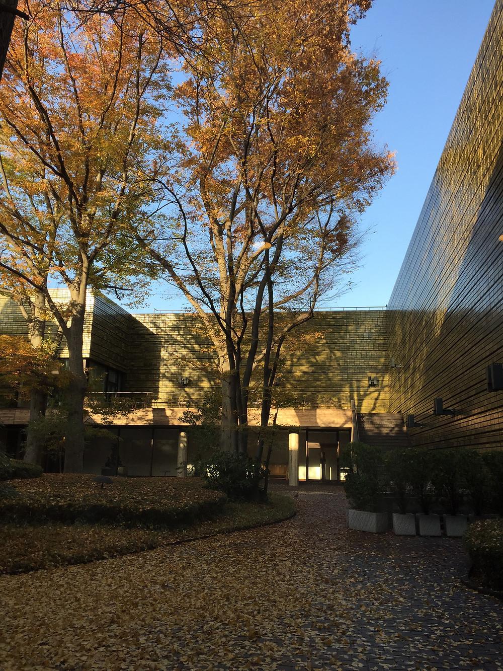 上野 東京都美術館の秋。インテリアコーディネーターのブログ。
