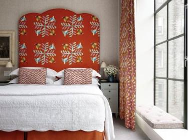 イギリスの人気デザイナーKIT KEMP(キットケンプ)が手がけるHam Yard Hotel(ハムヤード)ホテルのような寝室にしてほしい!そんな課題をこなすインテリアセミナー!コーディネーターのブログ