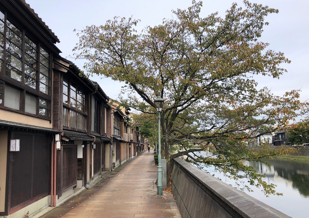 金沢 主計町を散策した朝。インテリアコーディネーターのブログ。