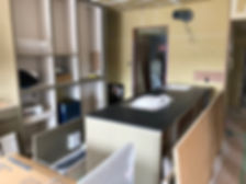 リフォーム オーダーキッチン施工現場 実例