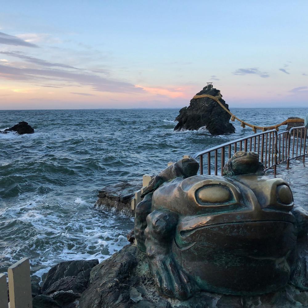 伊勢神宮と夕焼けの夫婦岩をめぐる旅。インテリアコーディネータのブログ。