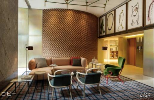 パトリシアウルキオラのホテルデザイン。インテリアコーディネーターのブログ