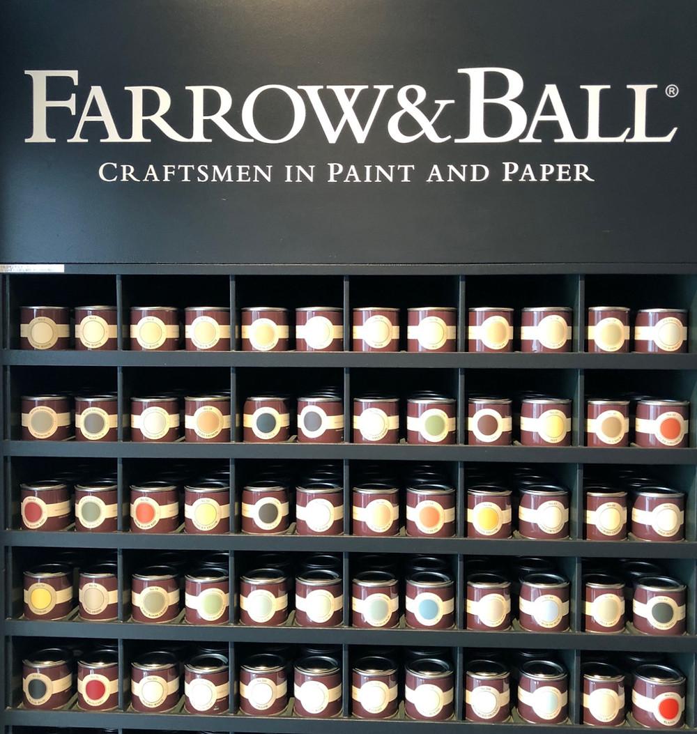 Farrow&Ballのペイント。カラーワークスのセミナーを受講。インテリアコーディネーターのブログ。