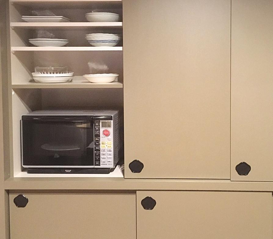 キッチンリフォーム実例。 おしゃれなカップボードについてのブログ。