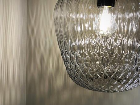 カーテン新商品と照明の新ショールーム