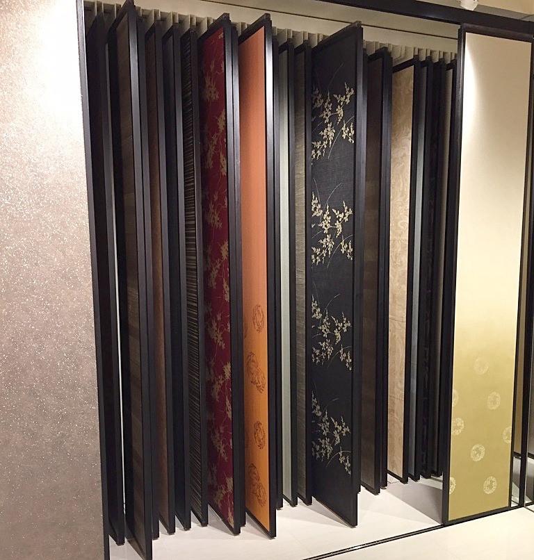 襖紙のショールーム。マンションリノベのお客様を、実際にご案内しました。インテリアコーディネーターのブログ