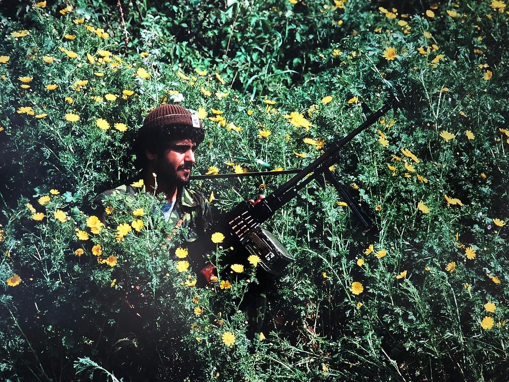 アマル民兵写真 写真展戦争と花 ギャラリーTHE MASS