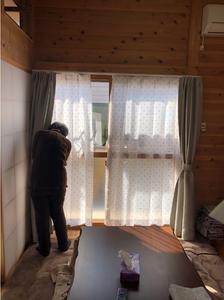 岡山県総社市。西日本豪雨の被災者を訪ねたブログ。木造仮設住宅の住み心地を伺いました。