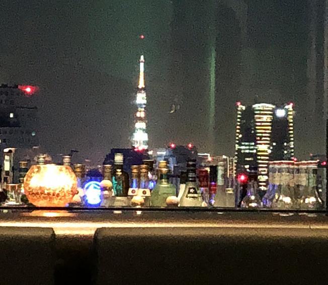 東京タワーが見える絶景のバー。インテリアコーディネター目線のブログ。プリンスタワー紀尾井町、赤坂、半蔵門。